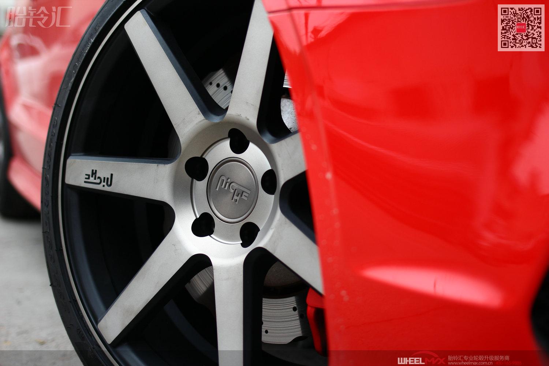 奥迪S3安装美国NICHE M150款变色龙轮毂