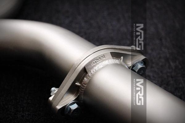 MRG精品排气 奥迪系列单边双出中尾段无阀门款
