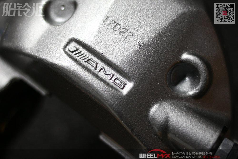 奔驰AMG大四活塞后轮(brembo代工)高性能刹车套装