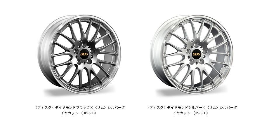日本BBS 高性能两片式锻造RS-N款轮毂