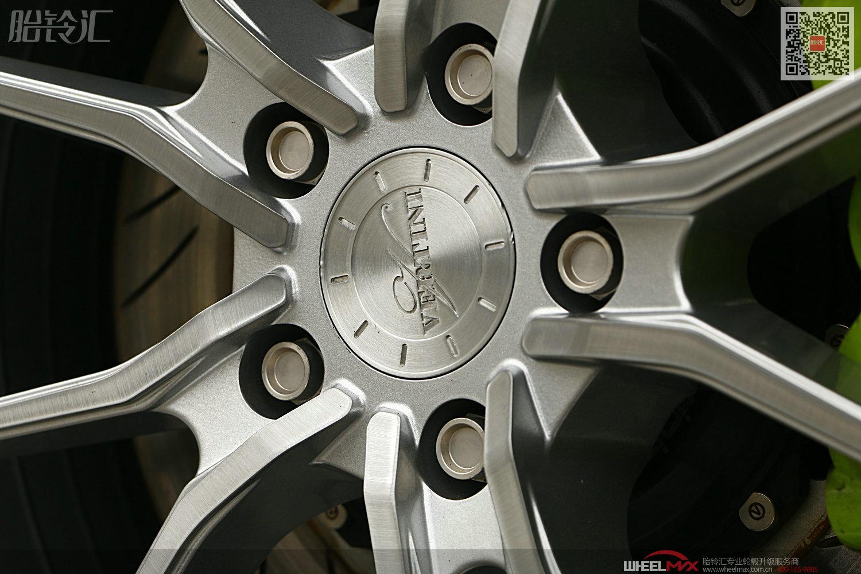 马自达阿特兹安装美国VERTINI RF1.2款19寸大脚