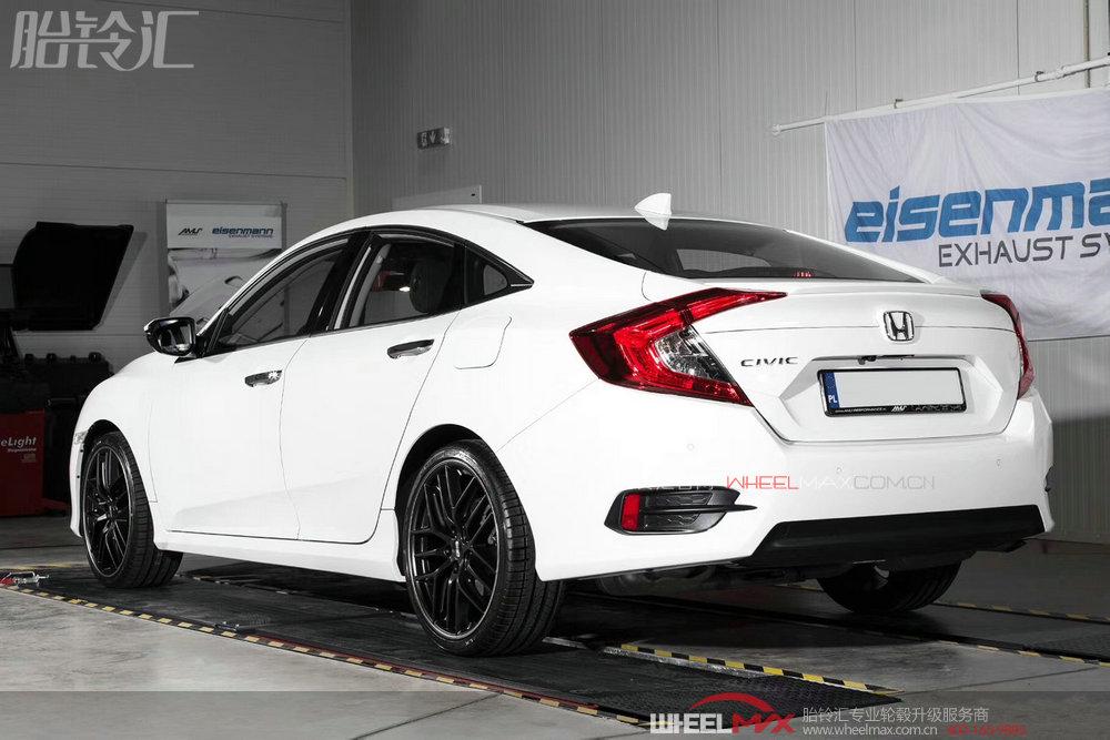 本田安装德国进口BBS CC-R 19寸超大轮毂显运动风范