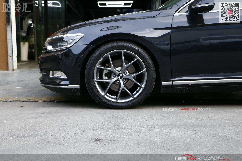 迈腾B8安装德国精品BBS SR经典款式轮毂