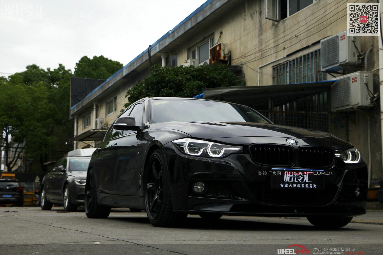 宝马3系安装日本ADVAN RACING GT将黑武士风格进行到底