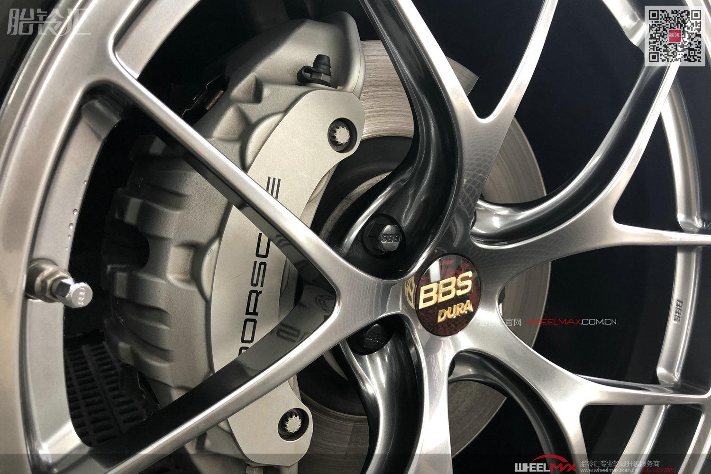 保时捷MACAN安装高端BBS  RI-D超级轻量化航空锻造铝轮毂