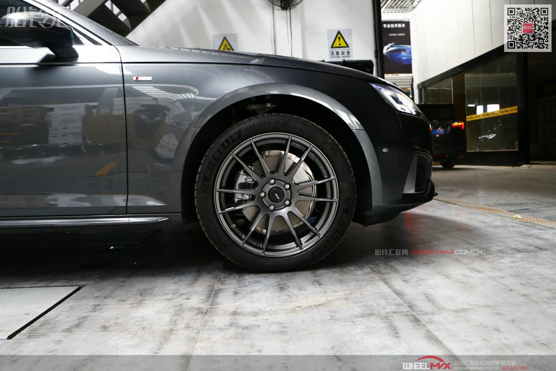 奥迪A4L B9安装雅泛迪SL26款18寸轻量化轮毂