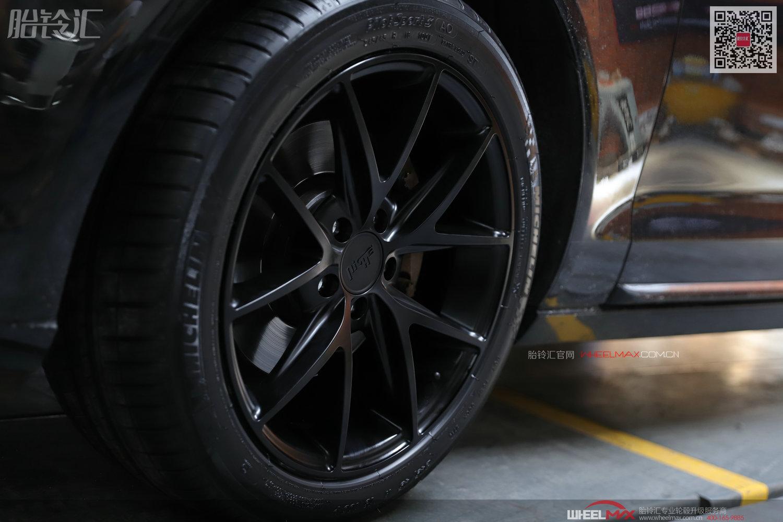 奥迪A6L安装美国高品质NICHE M117款大脚轮毂