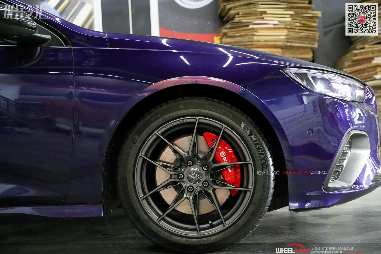 别克君威GS安装美国305FORGED FT113款轮毂18寸