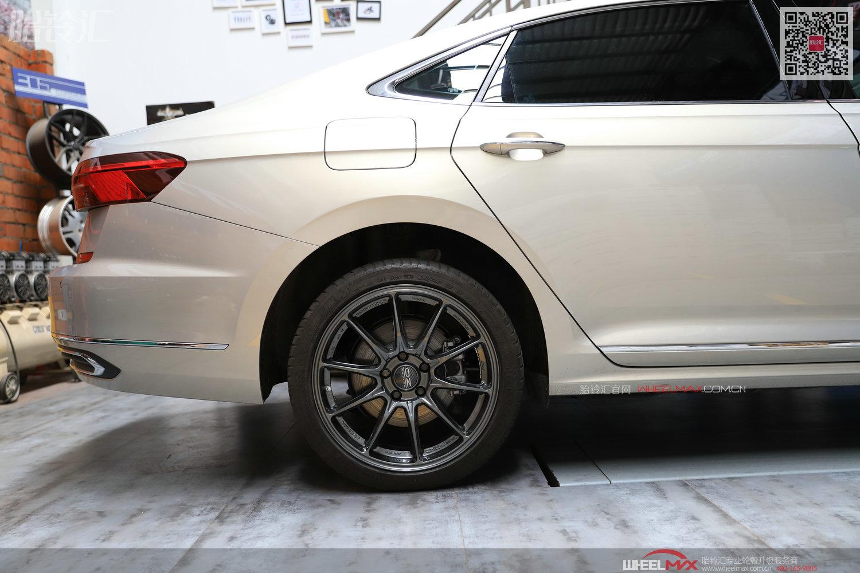 大众新款帕萨特安装意大利OZ HYPER GT HLT高品质OZ轮毂
