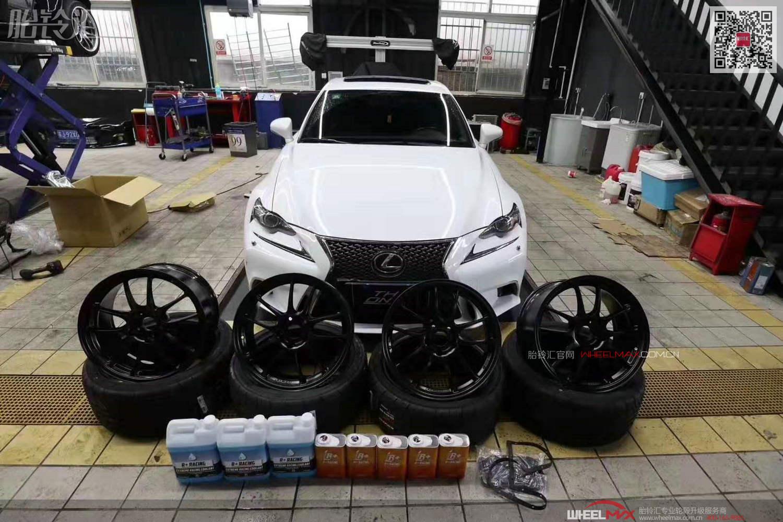 雷克萨斯IS与日本ENKEI轮毂高轻量化性能PF01款