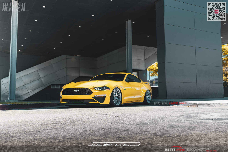 福特野马安装美国高品质旋压铸造FT116款镂空轮毂