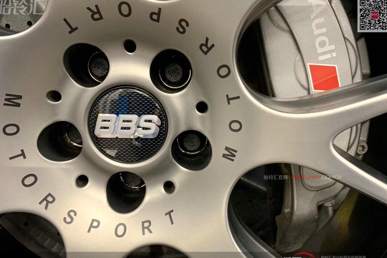 奥迪RS6安装德国BBS轮毂精品款式CH-R II超级大脚21寸