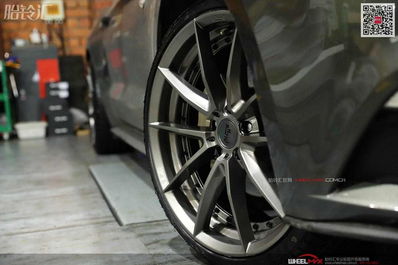 福特野马MUSTANG装美国NICHE两片式造型M197款大尺寸轮毂