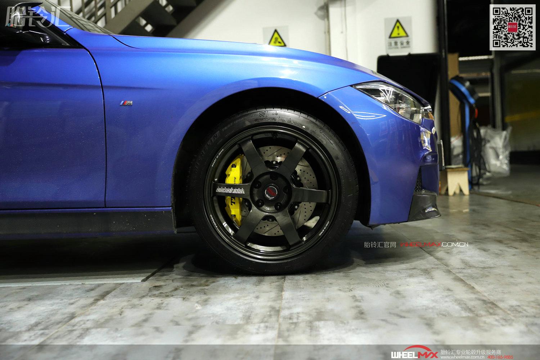 宝马3系安装德国TEI高性能后轮刹车P41S