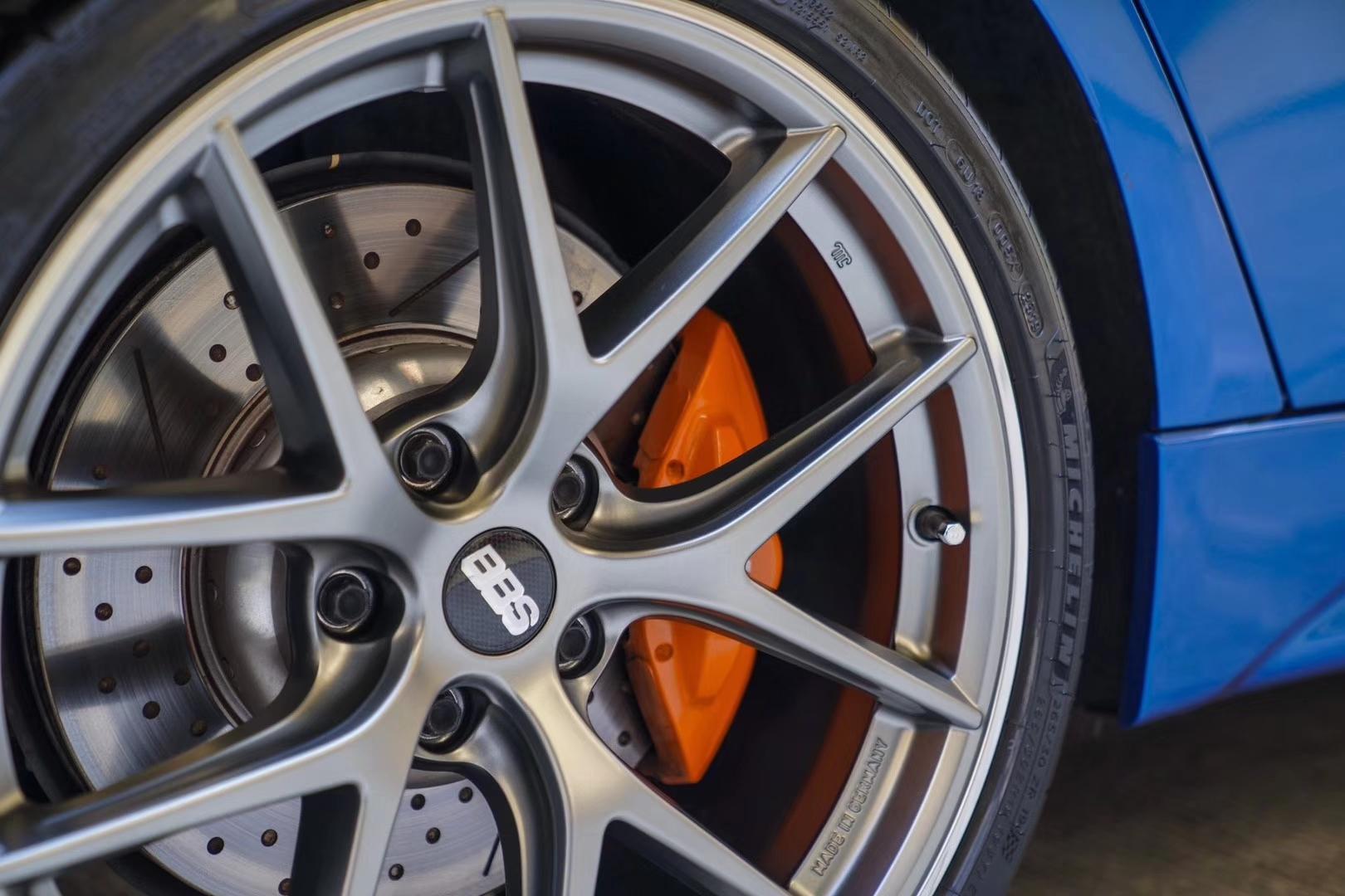 宝马3系安装德国精品高强度轮毂BBS CI-R款式