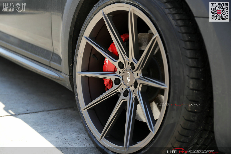 奥迪A4 Allroad安装精品MMX轮毂 19寸1601款轻量化