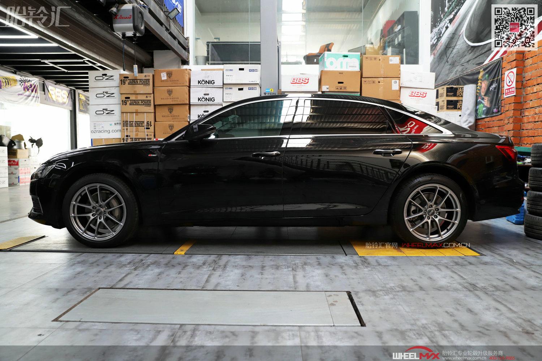 新款奥迪A6L安装意大利高品质OZ轮毂 Leggera HLT