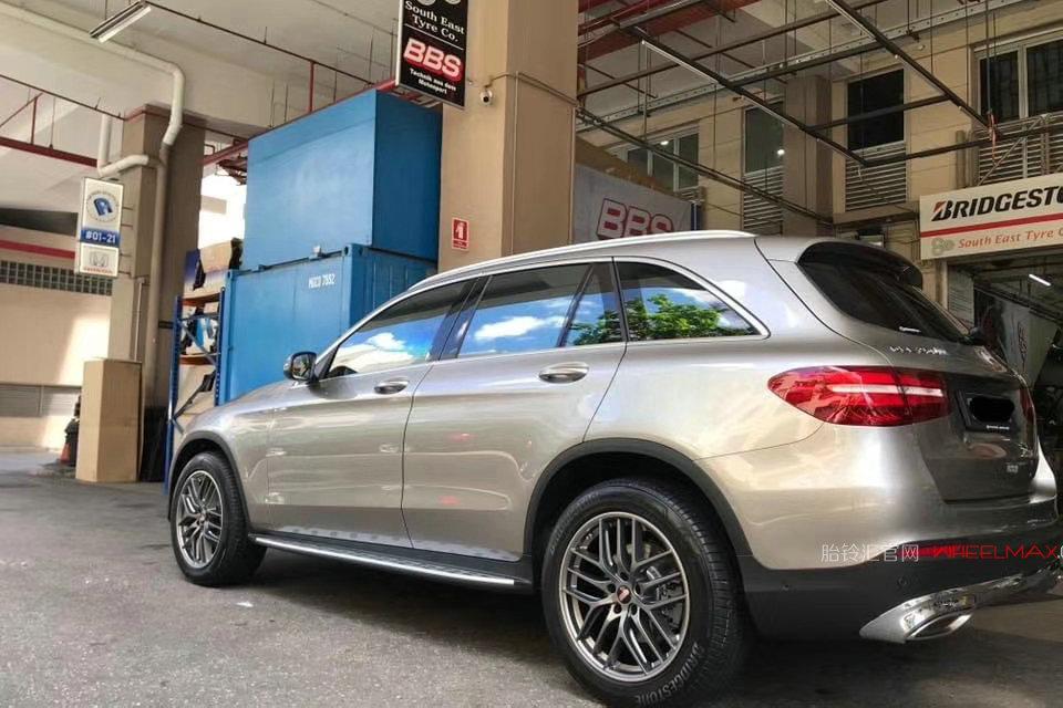 奔驰GLC与德国BBS轮毂高性能滚锻轻量化产品CC-R
