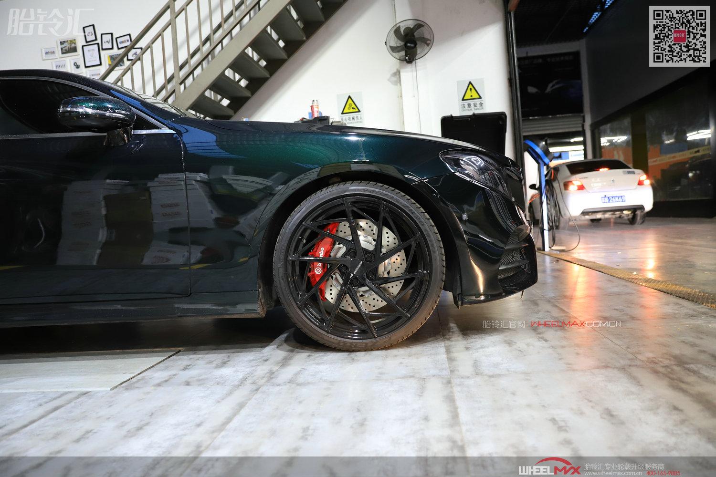 奔驰E级COUPE安装Brembo OEM CTS-V6款刹车