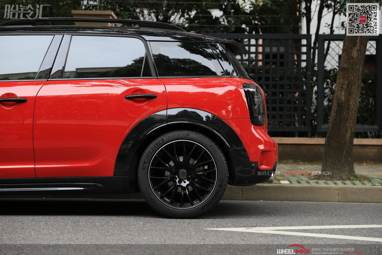 大MINI和日本Rays 2X9的美丽相遇黑红配绝美