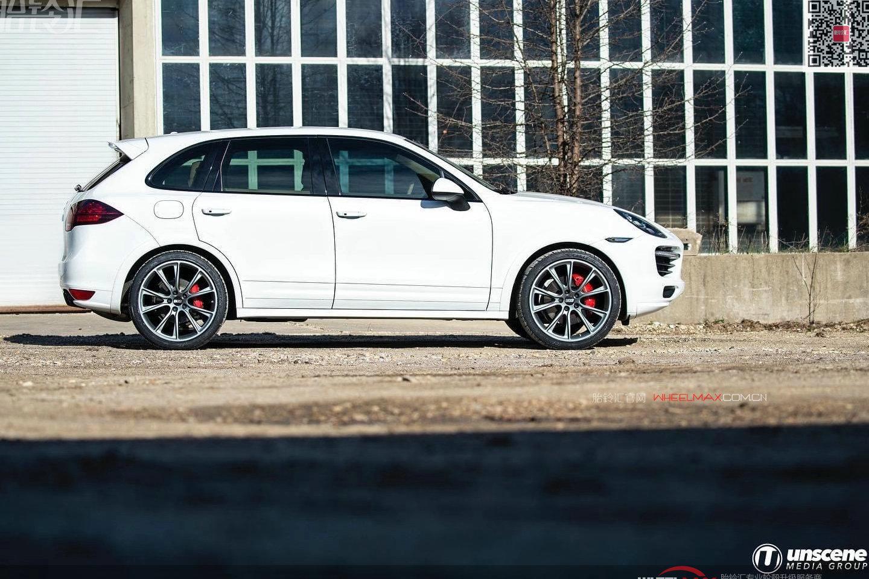 保时捷卡宴安装高品质BBS轮毂SV款式强调硬汉的风格