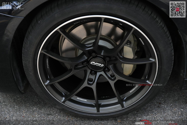 宝马新五系G38车型安装日本进口Rays轮毂单片锻G025