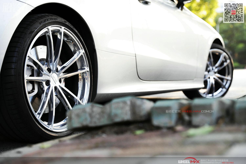 奔驰E级AMG E53与意大利OZ ZEUS毂王手工琉璃抛光银色