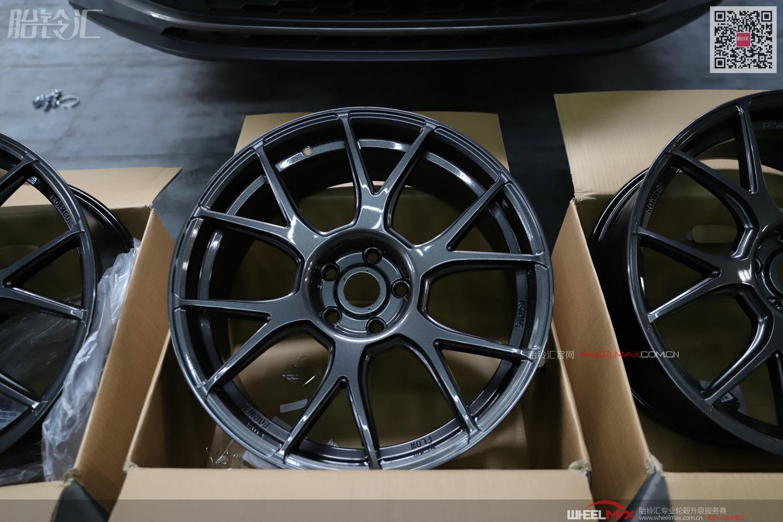 柯迪亚克GT版安装雅泛迪轮毂N636旋压轻量化运动款