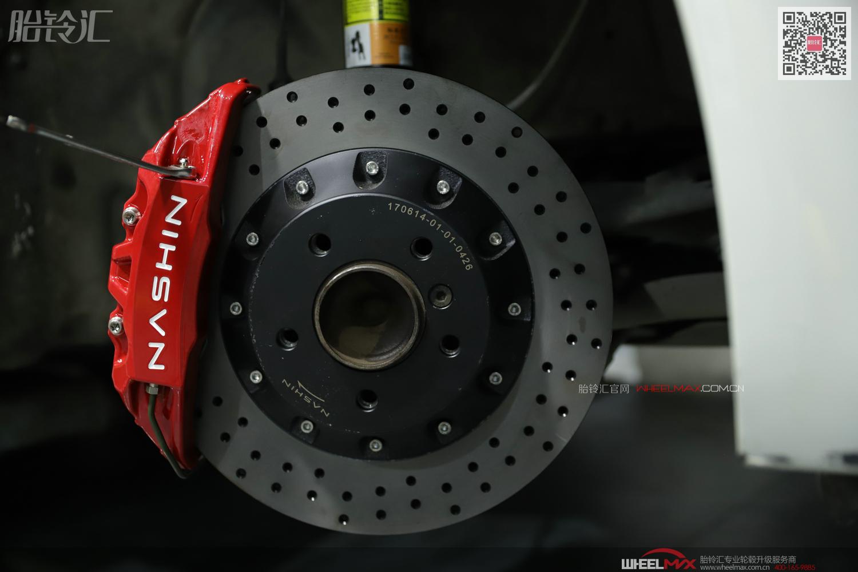 宝马F30安装台湾优质制动产品NASHIN N3套装
