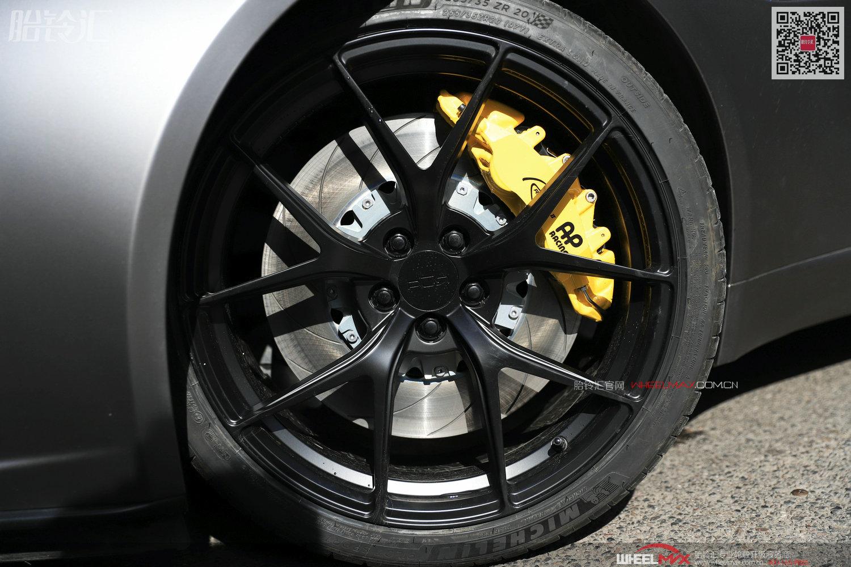 捷豹新款F-TYPE安装英国高性能刹车AP9560和AP9540款式