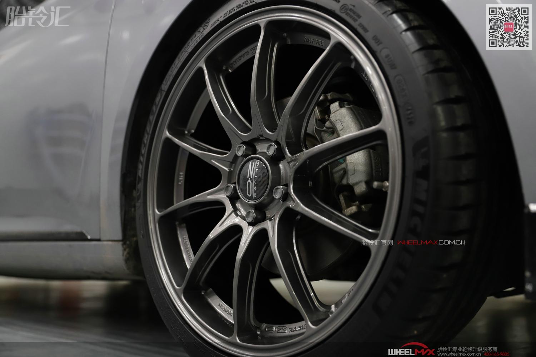 新款名爵6安装意大利高品质OZ HYPER GT轮毂