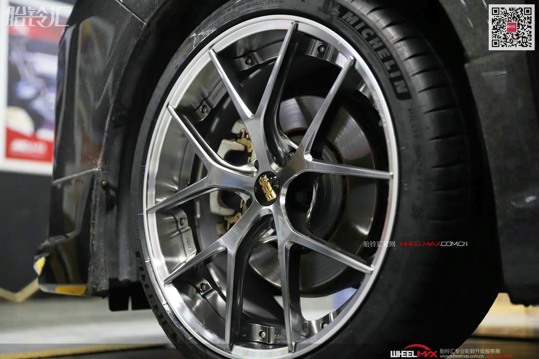 丰田埃尔法安装日本BBS RI-S高性能两片式锻造
