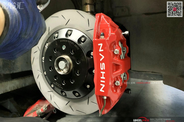 高尔夫7.5代GTI安装性能刹车之台湾雷迅N3