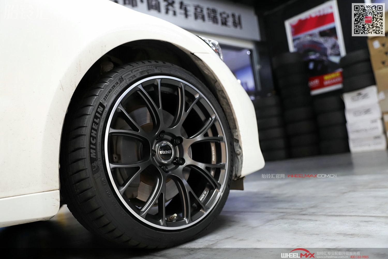 雷克萨斯IS安装国产锻造HW-G16款单片18寸轮毂