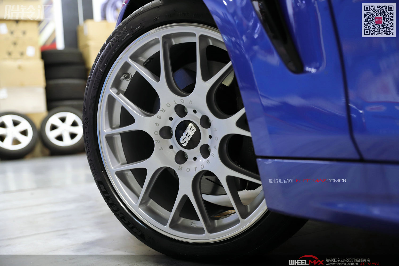 宝马430安装德国BBS CH-R高性能轮毂19寸