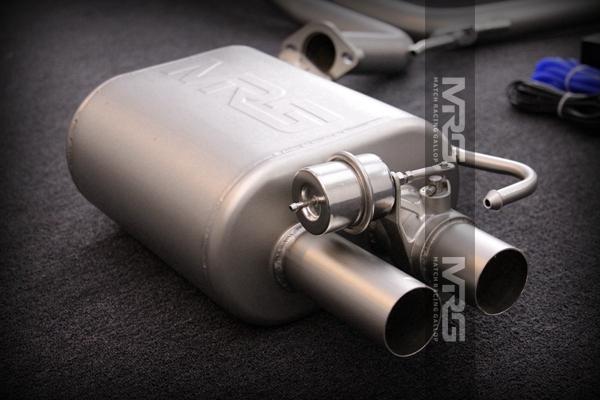 MRG精品排气 奥迪系列双边四出中尾段带双阀门款