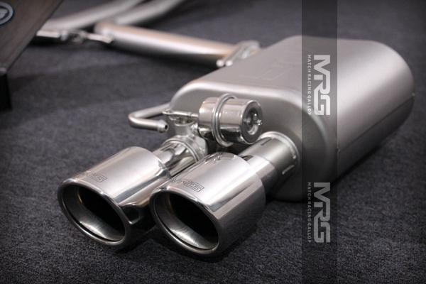 MRG精品排气 奥迪系列双边四出中尾段无阀门款