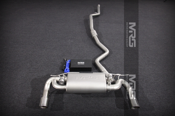 MRG精品排气 奥迪系列双边双出中尾段带阀门款