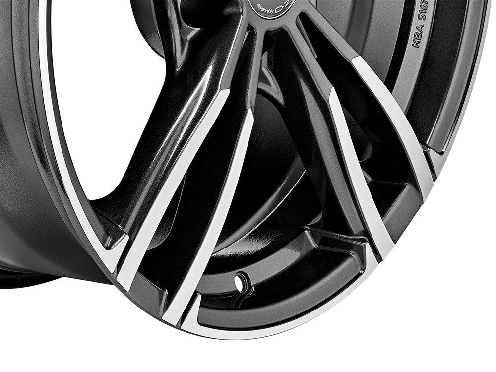 意大利OZ  MSW73五双辐高品质轮毂