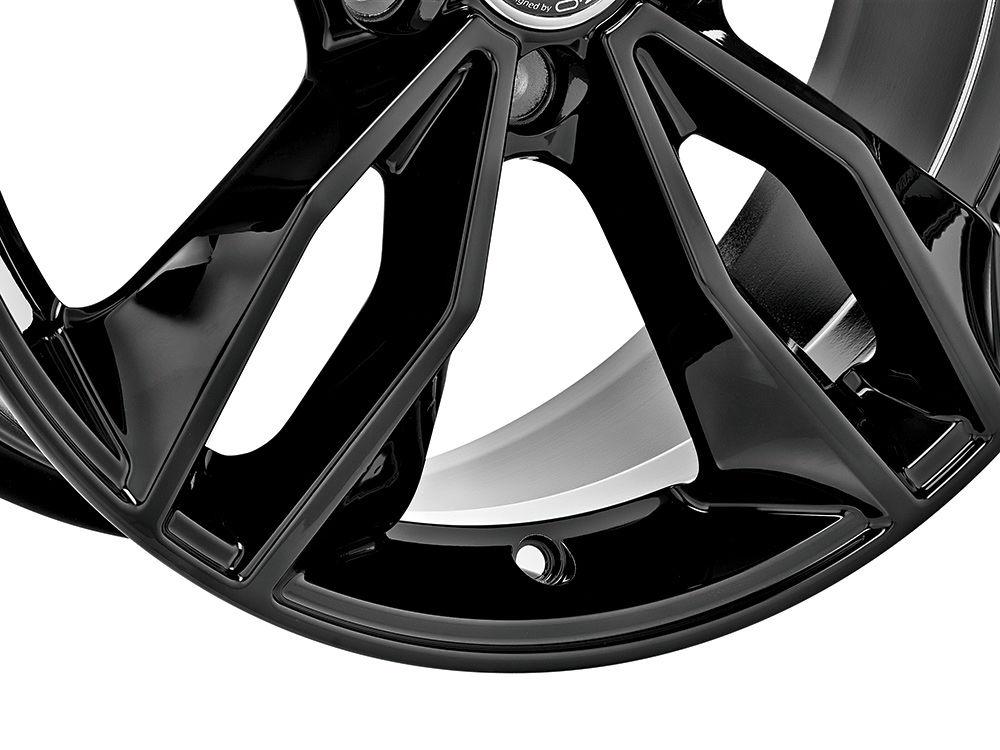 意大利OZ MSW71五双辐奥迪OEM进口高品质轮毂