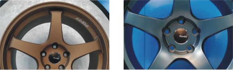 雅泛迪N607单五辐旋压铸造轻量化定制款轮毂