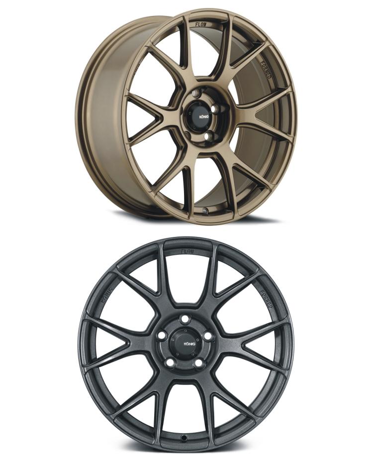 雅泛迪 KONIG AMPLIFORM N636 旋压铸造轻量化六V辐高品质轮毂