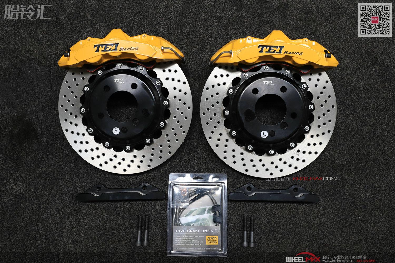 德国TEI大六活塞运动系列S60高性能刹车套装