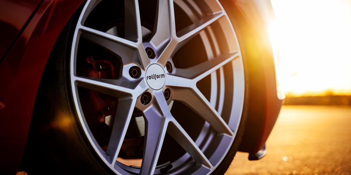 美国ROTIFORM  精品FLG五V辐款式轻量化轮毂