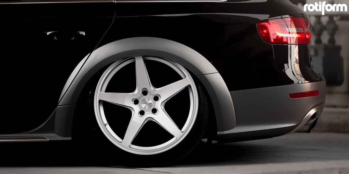 美国ROTIFORM精品铸造WGR单五辐高品质改装轮毂