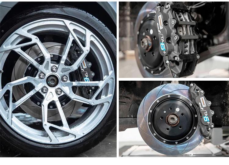 英国原装进口ALCON TA6竞技版日本BELFE原装刹车碟套装