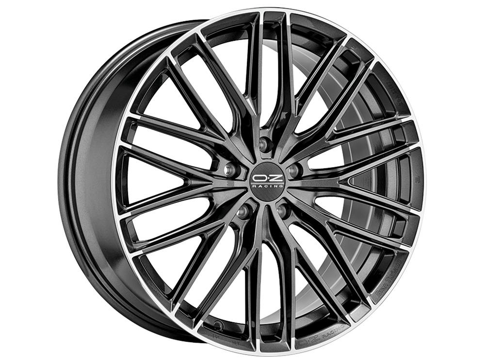 意大利OZ Gran Turismo HLT旋压轻量化多条辐高性能轮毂