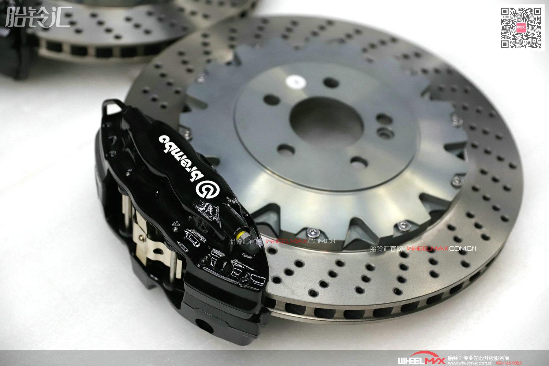 Brembo OEM CTS-V4大四活塞后轮刹车套装