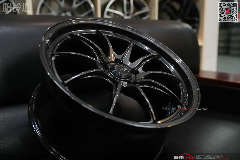 雅泛迪N978M超轻量化DST旋压铸造小抛边性能轮毂