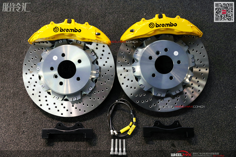 BREMBO OEM CTS-V6大六活塞刹车套装